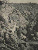 Vojáci bojující v bitvě u Verdunu 1916.