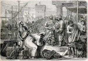 Féničané byli především zdatní obchodníci a mořeplavci. Jejich písmo dalo základ latince, kterou používáme dodnes.