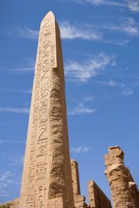 Obelisk Thutmose I. v Karnaku (foto: Michael Cavén)