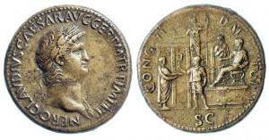 Sestercius císaře Nerona