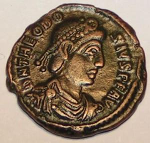 Theodosius I. Veliký (11. 1. 347 – 17. 1. 395 )