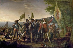 John Vanderlyn: Kolumbovo přistání v Americe