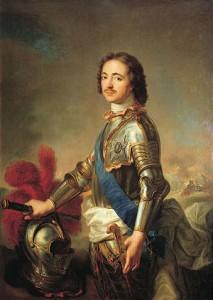 Ruský car Petr I. Veliký (1672 - 1725)