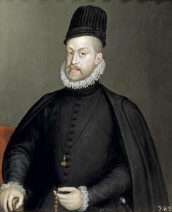 Filip II. Habsburský, zvaný El Prudente (21. 5. 1527 – 13. 9. 1598)