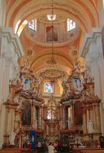 Monumentální výzdoba kostela, Litva.