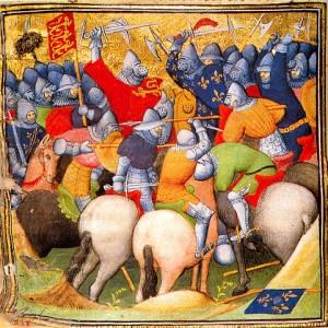 Bitva u Kresčaku (1346) podle kroniky Jeana Froissarda