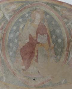 Zobrazení Krista v mandorle bylo velmi populární.