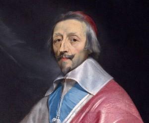 Armand Jean du Plessis, kardinál a vévoda de Richelieu (9. 9. 1585 Paříž – 4. 12. 1642)