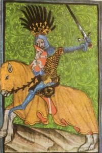 Jan Lucemburský ( 10. srpna 1296 – 26. srpna 1346) zvaný král cizinec dle vyobrazení v Gelnhausenově kodexu