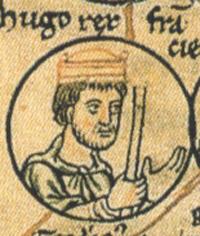 Hugo Kapet (941? – 24. 10. 996), zakladatel francouzského královského rodu Kapetovců