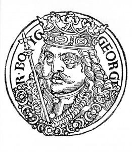 Jiří z Poděbrad (23. dubna 1420 – 22. března 1471)
