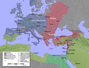 Během první křížové výpravy byl Jeruzalém dobyt.