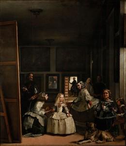 Dvorní dámy od Diega Velázqueze.