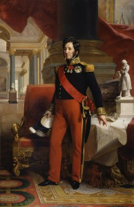 Ludvík Filip (6. 10. 1773, Paříž – 26. 8. 1850), svržený francouzský král