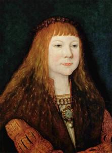 Ludvík Jagellonský (1. 7. 1506 - 29. 8. 1526) (obraz od Bernharda Strigela)