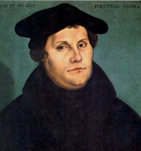 Martin Luther (10. 11. 1483 – 18. 2. 1546)