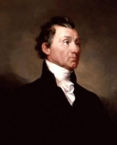 James Monroe (1758 - 1831), pátý prezident USA a autor tzv. Monroeovy doktríny