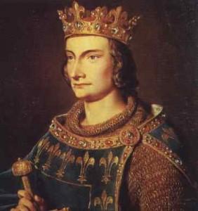 Filip IV. Sličný (1268 - 1314) donutil papeže k přesídlení do Avignonu