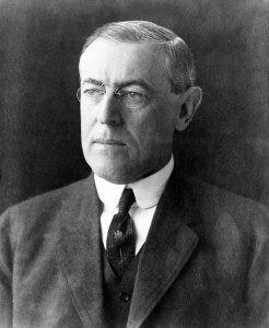 Woodrow Wilson (prezidentem USA v letech 1913-1921)