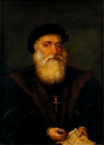 Vasco da Gama, portugalský objevitel a mořeplavec (1469 – 24. 12. 1524)