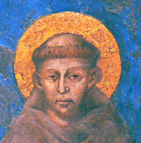 sv. František z Assisi (Giovanni Battista Bernardone) (5. 7. 1182 – 3. 10. 1226)