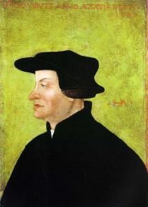 Ulrich Zwingli (1. 1. 1484 – 11. 10. 1531)