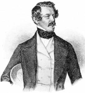 Alexander Bach (1813 - 1893) byl v letech 1849 - 1859 ministrem vnitra Rakouského císařství