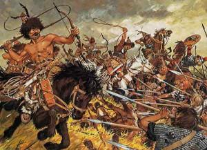 Hunové vtrhli do Evropy roku 375, čímž zapříčinili počátek stěhování národů