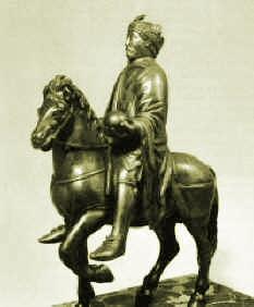 Karel Veliký, jezdecká socha