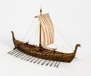 Vikingská loď (Karolina Kristensson / Sjöhistoriska museet)