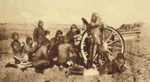 Turečtí vojáci u Gallipoli (oprace Dardanely)