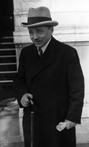 Engelbert Dollfuss (1892 - 1934), rakouský kancléř v letech 1932 - 1934 s hanlivou přezdívkou Millimetternich