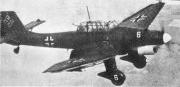 """Německý bombardér  Junkers Ju 87 """"Stuka"""""""