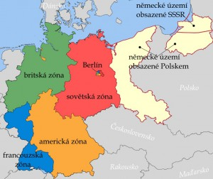 Rozdělení Německa po 2. sv. v.