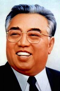 Kim Ir-sen (Kim Il-sŏng), premier (1948-1994) a prezident (od 1972 navždy) Korejské lidově demokratické republiky