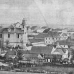 Pohled na Lidice před kompletním vyhlazením roku 1942