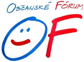 Logo Občanského fóra