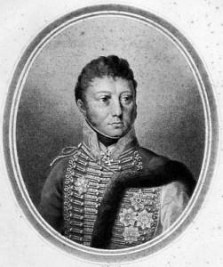 Josef Václav Radecký, hrabě z Radče (1766-1858) (obrázek ca. 1815)