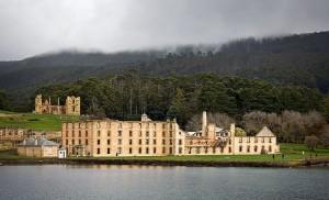 Port Arthur - jedna z nejznámějších australských věznic