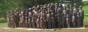 Pomník zavražděných lidických dětí (Marie Uchytilová)