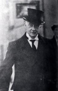 William Thomas Cosgrave (1880 - 1965), první premiér irského svobodného státu (1922 - 1932)